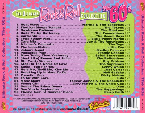 The Ultimate Rock & Roll Collection: The 60's