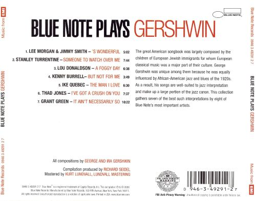 Blue Note Plays Gershwin
