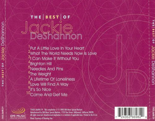 The Best of Jackie DeShannon[EMI-Capitol Special Markets]