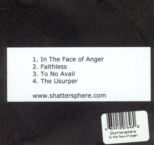 In the Face of Anger