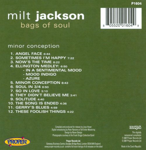 Bags of Soul: Minor Conception