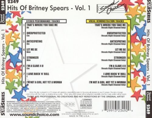Hits of Britney Spears, Vol. 1