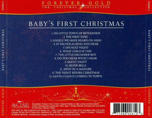 Forever Gold: Baby's First Christmas