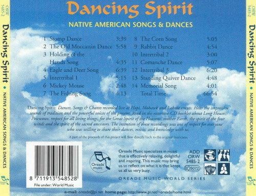 Dancing Spirit: Native American Songs & Dances