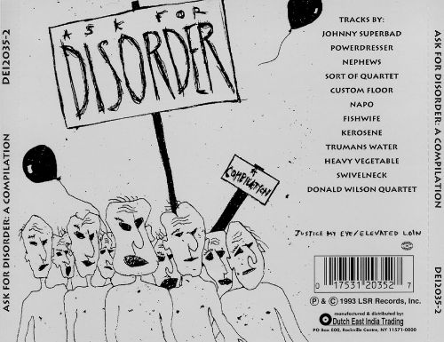Ask for Disorder: A Compilation