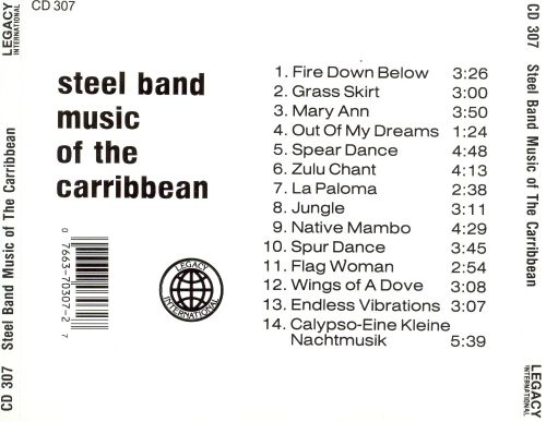Steel Band Music of the Caribbean [Olympic]