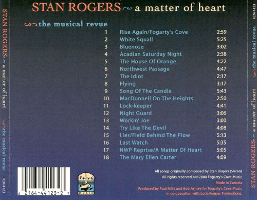 Stan Rogers: A Matter of Heart