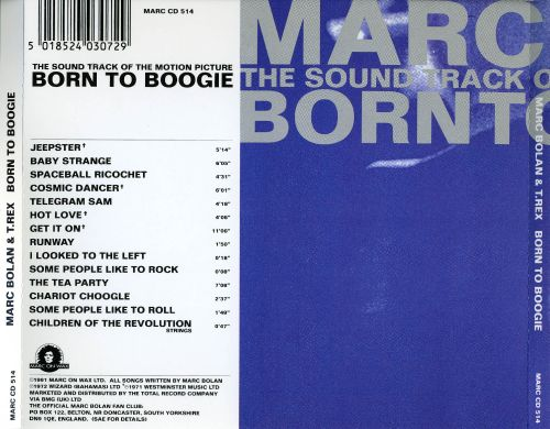 Born to Boogie [Soundtrack]