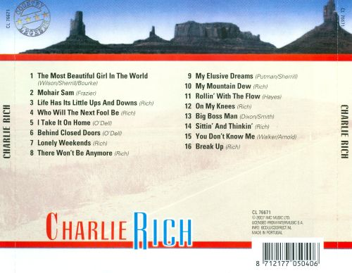Charlie Rich [Country Legends]