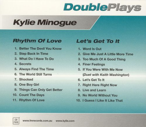 Let's Get to It/Rhythm of Love