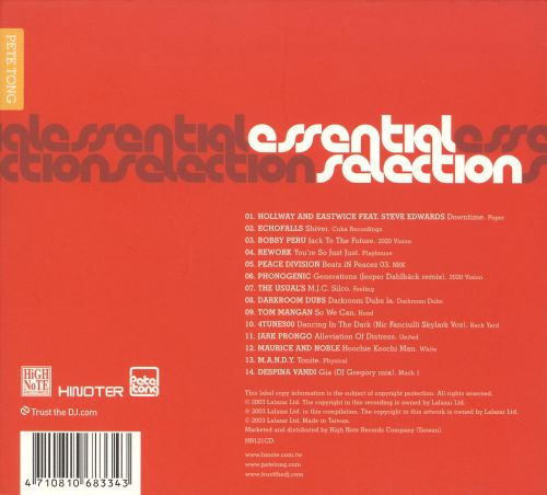 Essential Selection [2008]