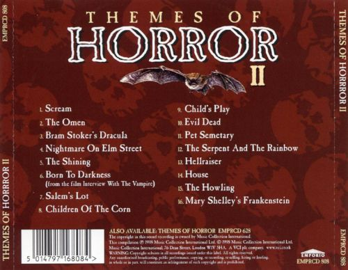 Themes of Horror, Vol. 2