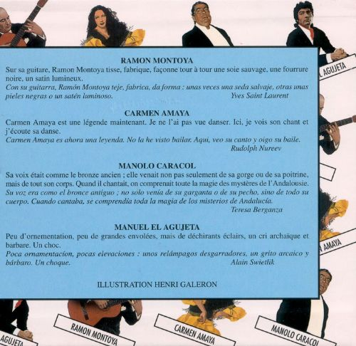 The Great Masters of Flamenco, Vols. 5-8