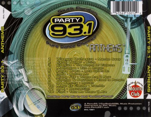 Party 93.1: South Florida's Pure Dance Channel