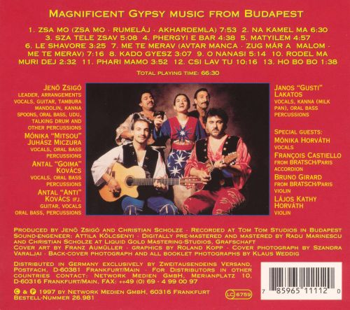 Magnificent Gypsy Music from Budapest