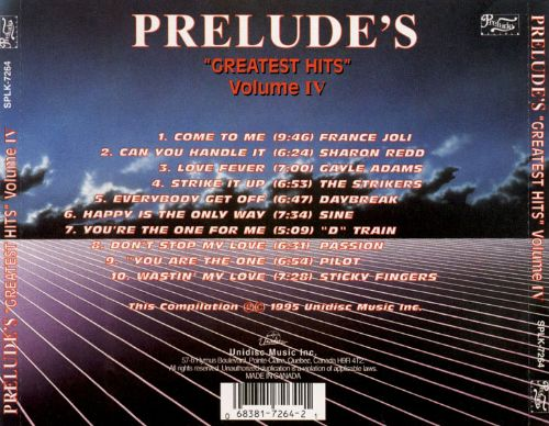 Prelude's Greatest Hits, Vol. 4