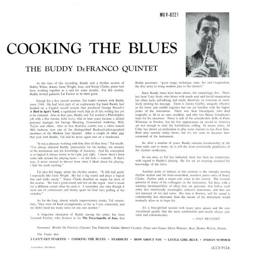Cooking the Blues