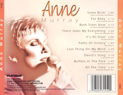 Anne Murray [Platinum Disc]