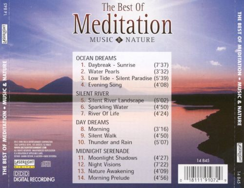 The Best of Meditation: Music & Nature