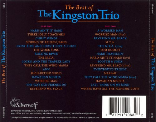 The Best of the Kingston Trio [Silverwolf]