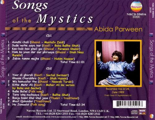 Songs of the Mystics