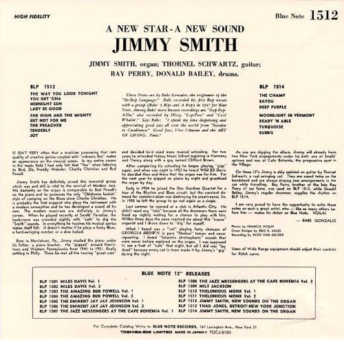 A New Sound, A New Star: Jimmy Smith At the Organ, Vol. 1