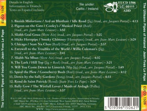 The Uilleann Pipes of Ireland