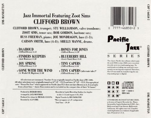 The Immortal Clifford Brown