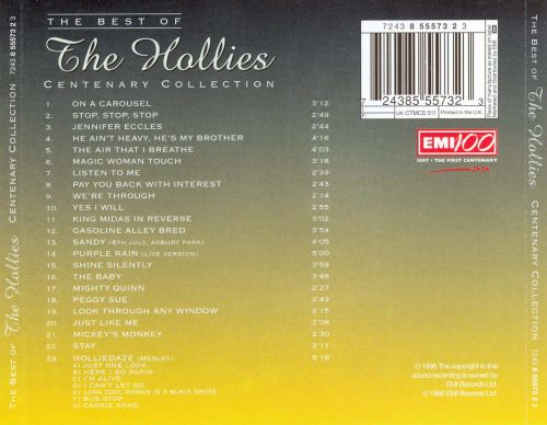 Centenary Collection: The Best of the Hollies