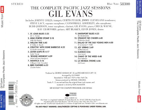 The Complete Pacific Jazz Recordings