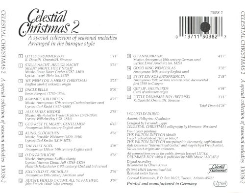 Celestial Christmas 2: A Special Collection of Seasonal Melodies