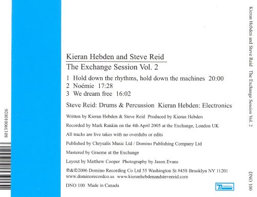 The Exchange Session, Vol. 2