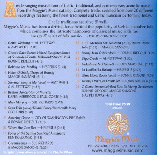 Maggie's Music Sampler, Vol. 2: From the Deep Well Of Our Ancient Folk Traditions