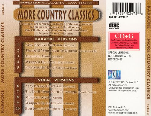 More Country Classics