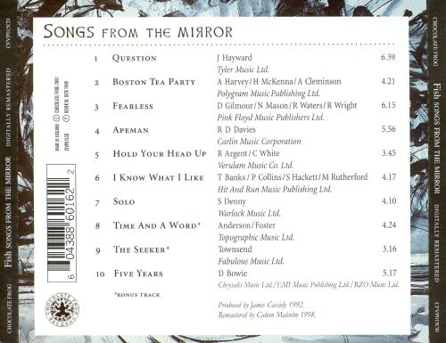 Songs from the Mirror