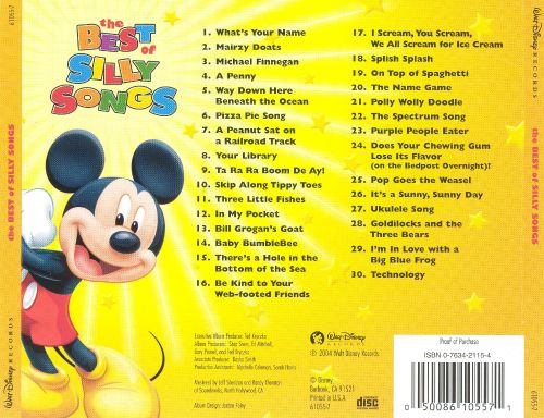 Disney: The Best of Silly Songs - Disney | Songs, Reviews, Credits | AllMusic