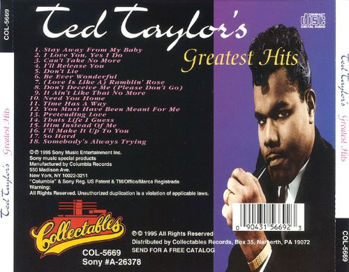 Greatest Hits [Collectables]