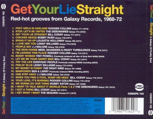 Get Your Lie Straight: A Galaxy of Funky Soul