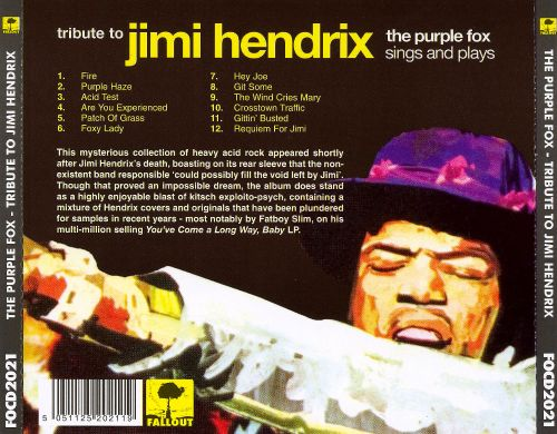 tribute to jimi hendrix the purple fox songs reviews credits allmusic. Black Bedroom Furniture Sets. Home Design Ideas