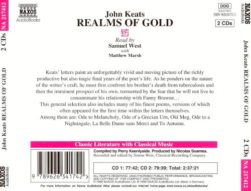 Realms of Gold: The Letters and Poems of John Keats
