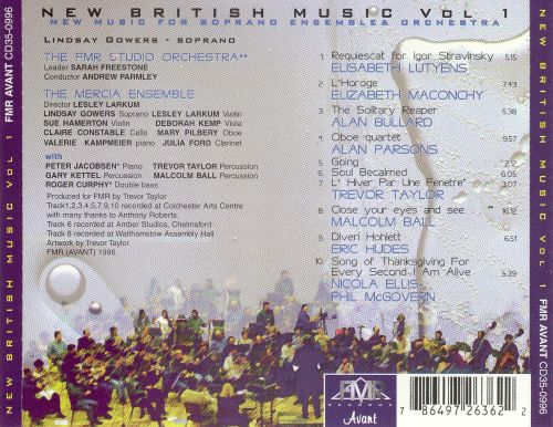 New British Music, Vol. 1