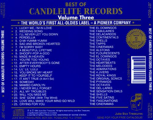 The Best of Candlelite Records, Vol. 3