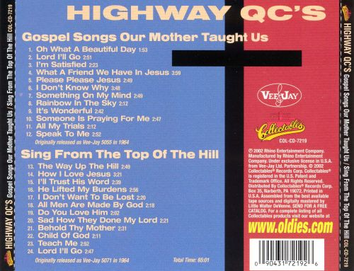 Songs Our Mother Taught Us/Sing from the Top of the Hill