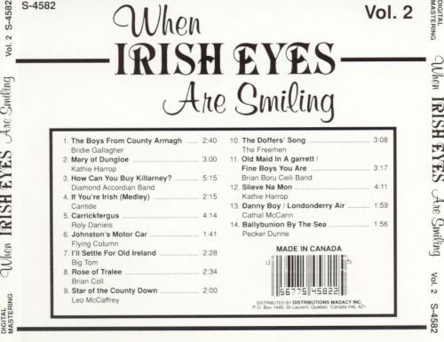 When Irish Eyes Are Smiling, Vol. 2