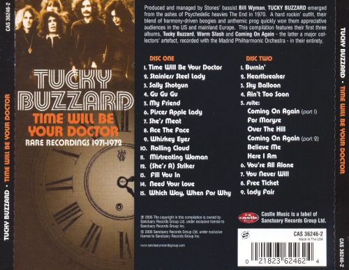 Time Will Be Your Doctor: Rare Recordings 1971-1972