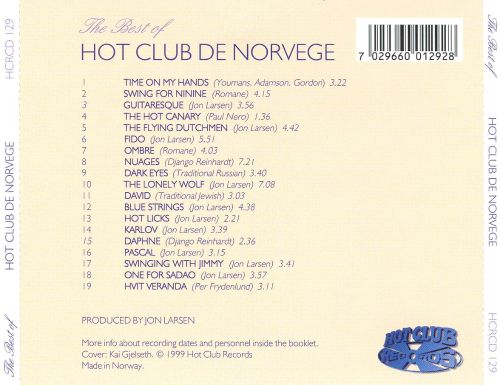The Best of Hot Club de Norvège [1999]