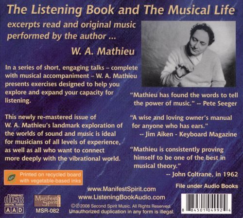 The Listening Book/The Musical Life