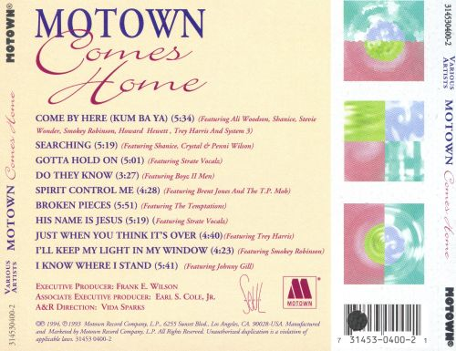 Motown Comes Home