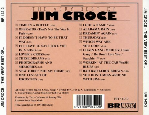 how to play jim croce songs