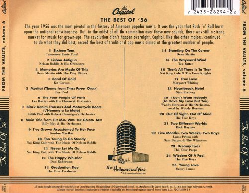 Capitol from the Vaults, Vol. 6: The Best of '56